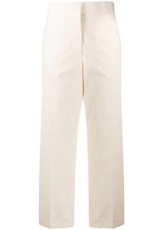 Jil Sander Lang cropped straight-leg trousers