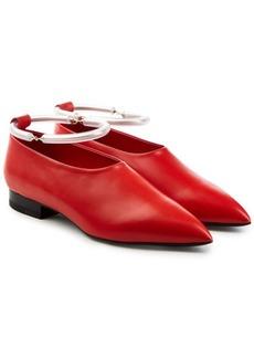 Jil Sander Leather Loafers
