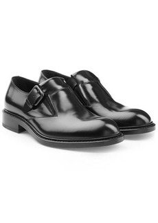 Jil Sander Leather Monk Shoes