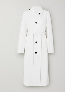 Jil Sander Leather Trench Coat