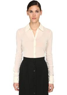 Jil Sander Light Stretch Tulle Shirt