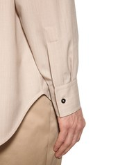 Jil Sander Light Wool & Cashmere Shirt