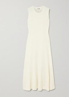 Jil Sander Linen-blend Maxi Dress