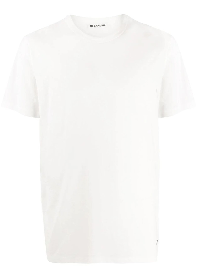 Jil Sander logo embroidered T-shirt