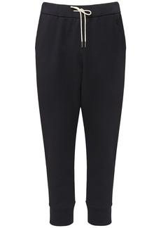 Jil Sander Plus Embroidered Cotton Sweatpants