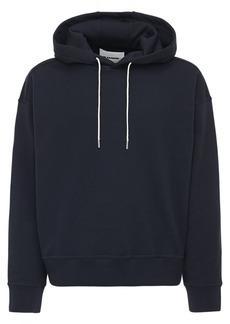 Jil Sander Plus Embroidered Organic Cotton Hoodie