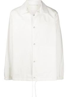 Jil Sander logo print shirt jacket