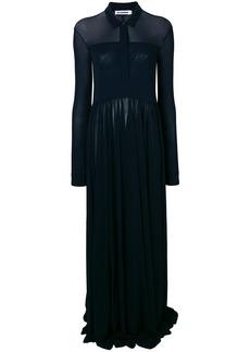 Jil Sander long polo shirt dress
