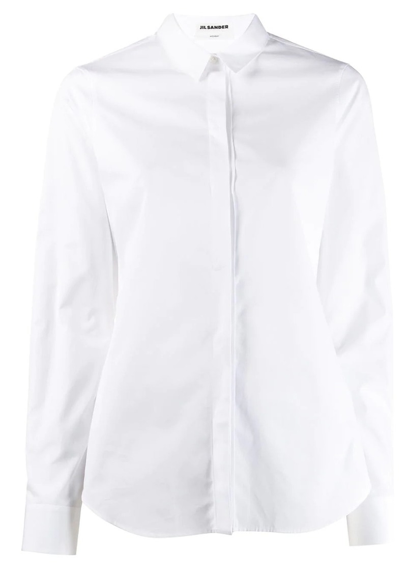 Jil Sander long-sleeve fitted shirt