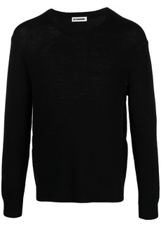 Jil Sander long-sleeve knitted jumper