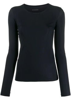 Jil Sander long sleeve slim T-shirt