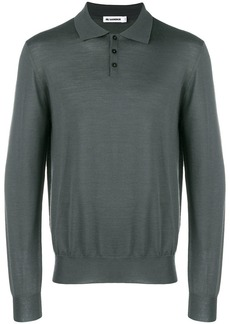 Jil Sander long sleeved fitted sweater