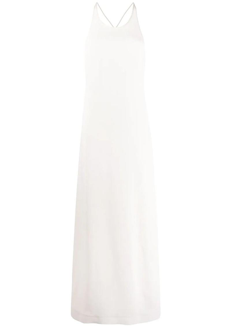 Jil Sander long slip dress