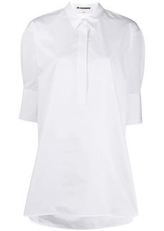 Jil Sander loose-fit 3/4 sleeves shirt