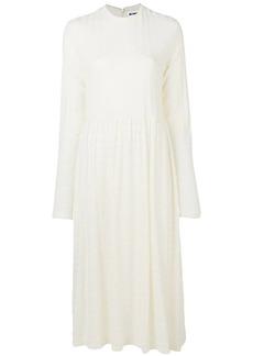 Jil Sander loose fit maxi dress