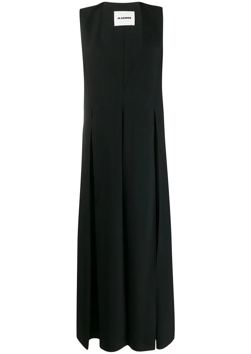Jil Sander loose-fit sleeveless dress
