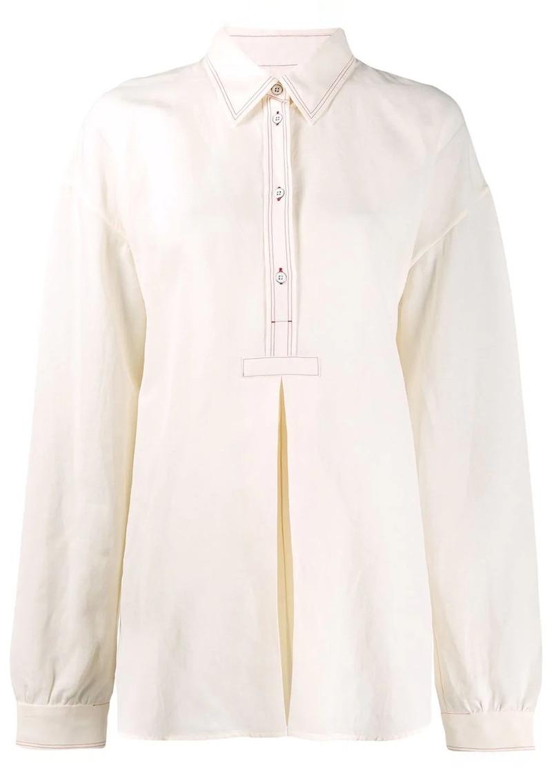 Jil Sander Macy longline shirt
