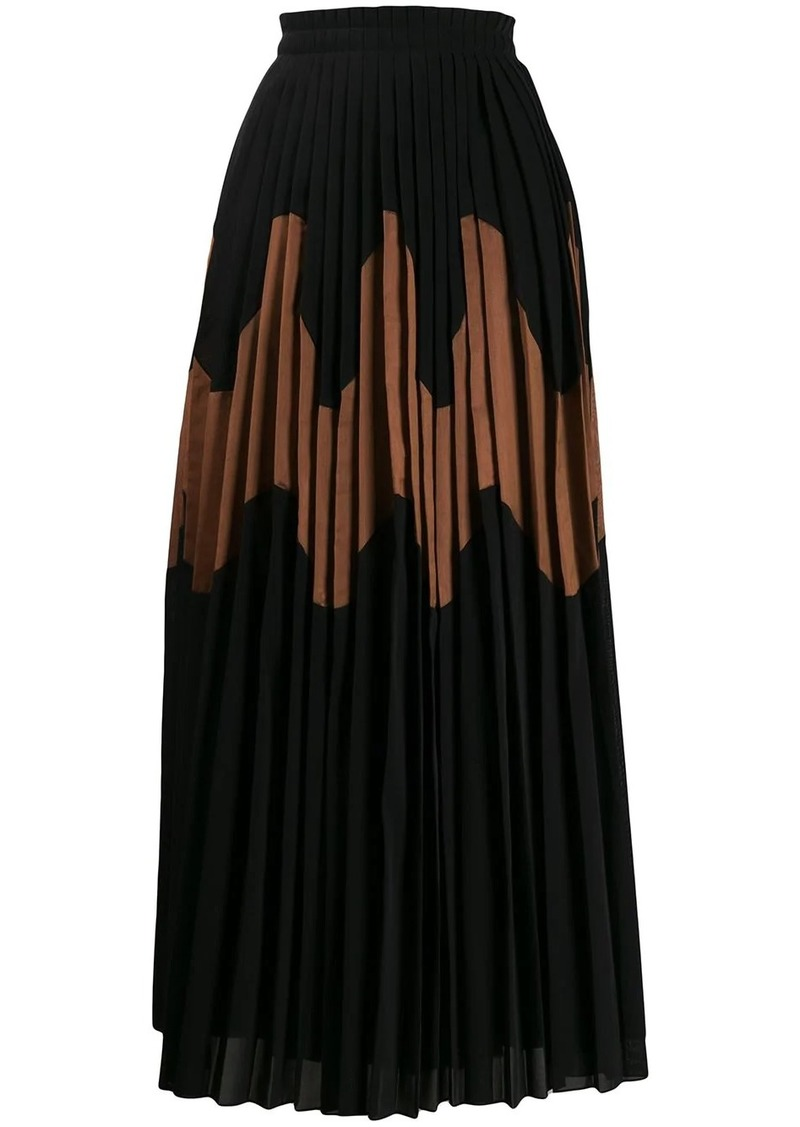 Jil Sander Malindy pleated skirt