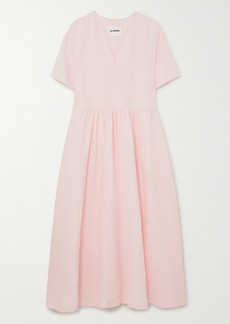 Jil Sander Voile Maxi Dress