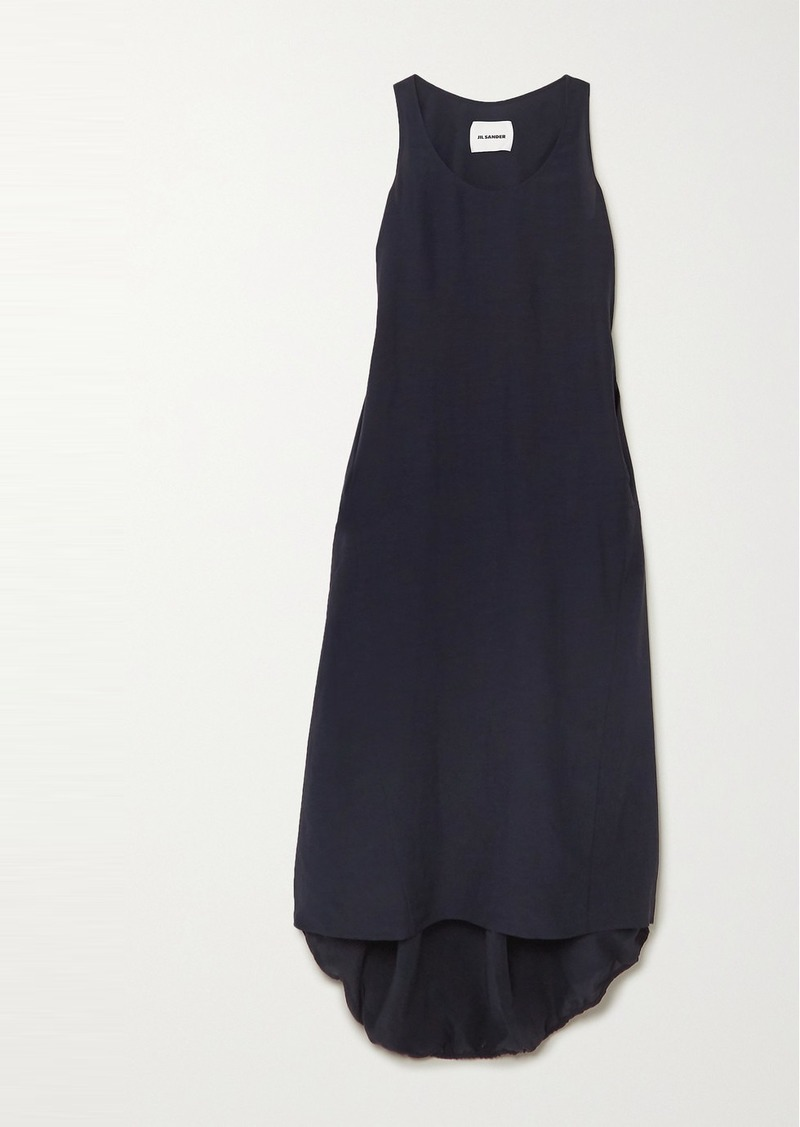 Jil Sander Masie Cady Maxi Dress