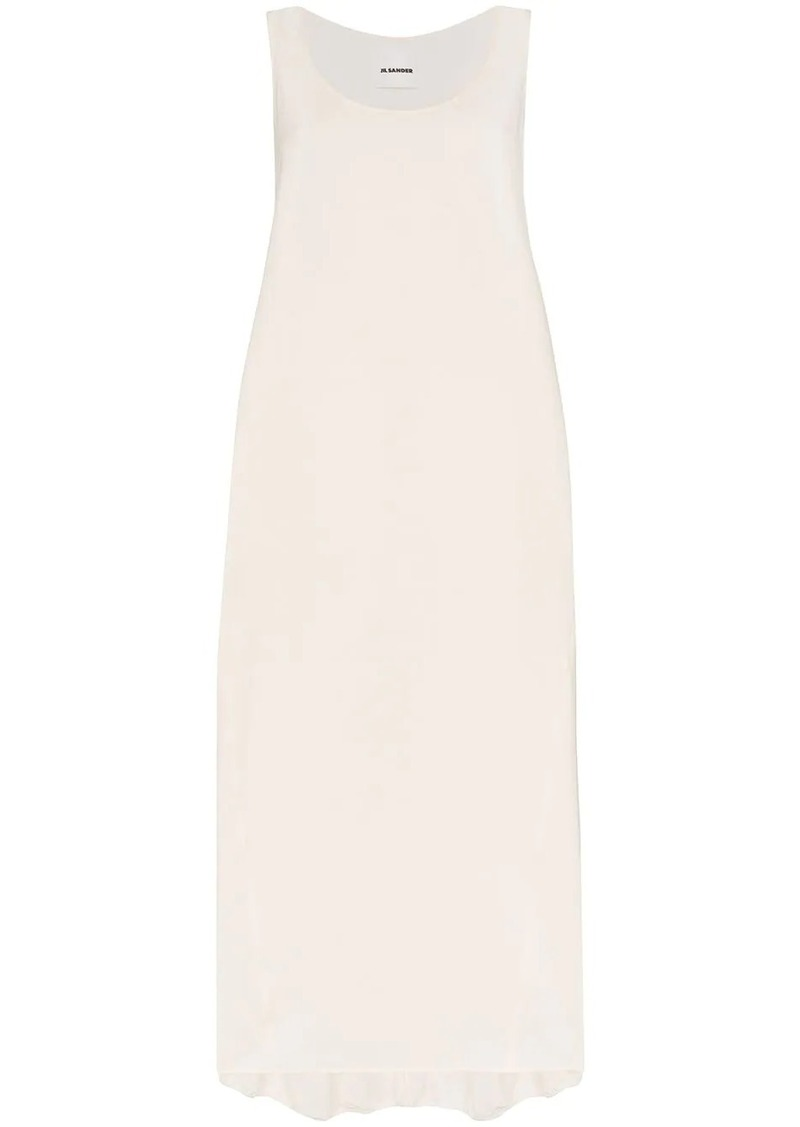 Jil Sander Masie scoop neck maxi dress