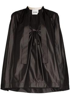 Jil Sander Mavis V-neck blouse
