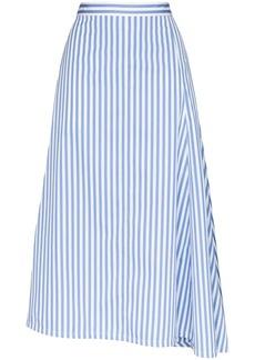 Jil Sander Mia striped flared skirt