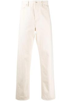 Jil Sander mid-rise straight-leg jeans