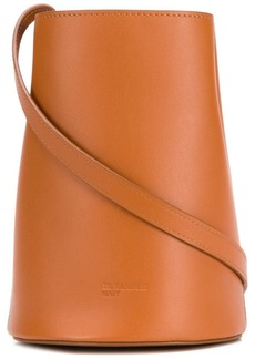Jil Sander Navy bucket crossbody bag