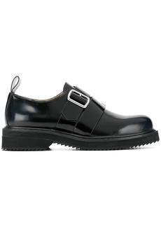Jil Sander Navy buckled brogue shoes