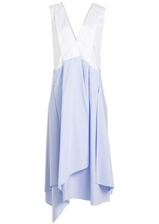 Jil Sander Navy Cotton Dress