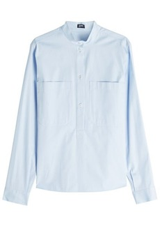 Jil Sander Navy Cotton Shirt