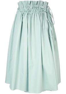 Jil Sander Navy elasticated waist skirt