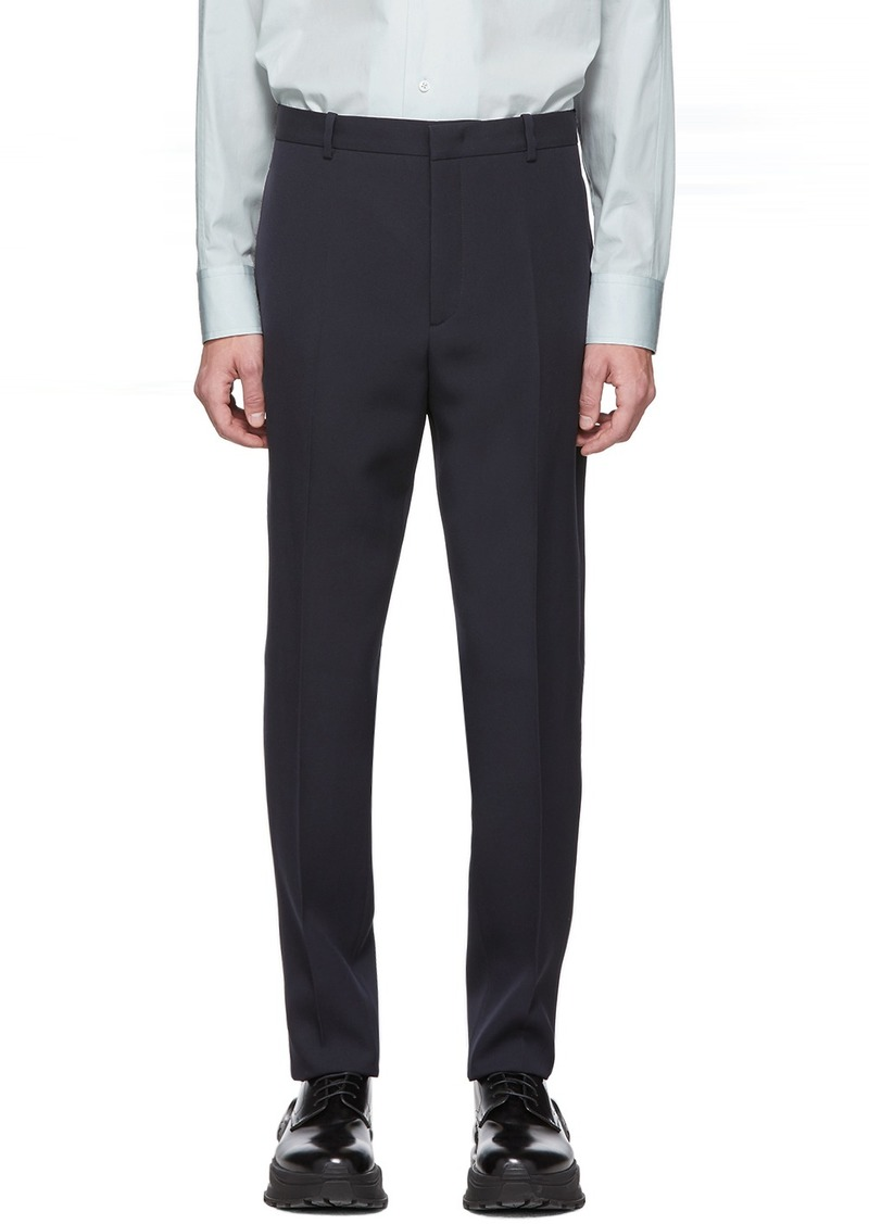 Jil Sander Navy Essential Trousers