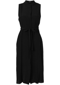Jil Sander Navy belted shirt dress - Black