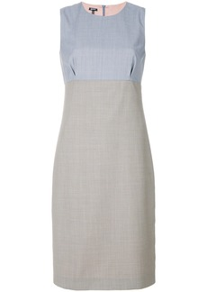 Jil Sander Navy panelled smart dress - Grey