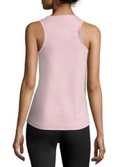 Jil Sander Navy Scoop-Neck Bicolor Tank