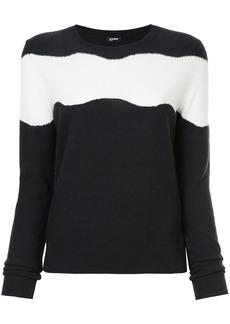 Jil Sander Navy striped sweater - Blue