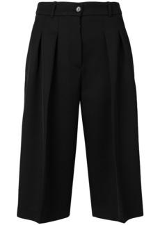 Jil Sander Navy wide leg bermuda shorts - Black