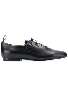 Jil Sander Navy lace-up loafers