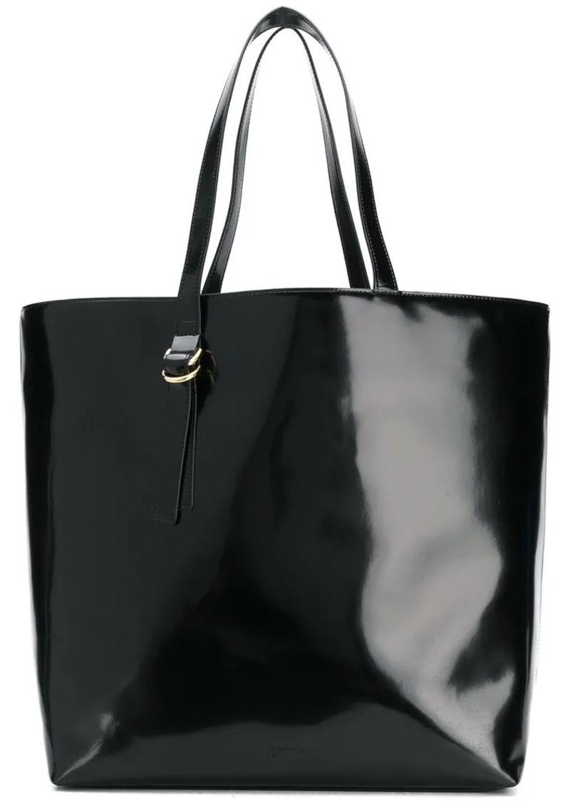 Jil Sander Navy Large Tote Bag
