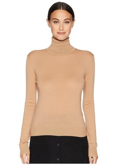 Jil Sander Navy Long Sleeve Turtleneck Knit