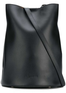 Jil Sander Navy saddle shoulder bag