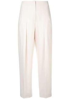 Jil Sander Navy straight-leg tailored trousers