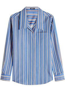 Jil Sander Navy Striped Cotton Shirt
