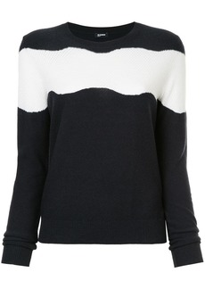 Jil Sander Navy striped sweater