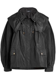 Jil Sander Navy Taffeta Jacket