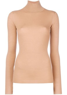Jil Sander Navy turtle neck sweater