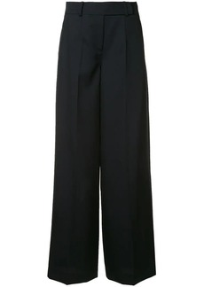 Jil Sander Navy wide leg trousers