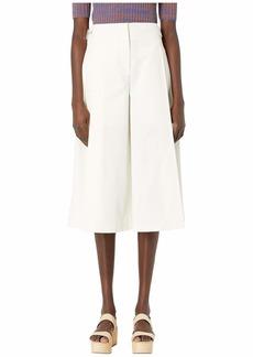 Jil Sander Navy Woven Trousers